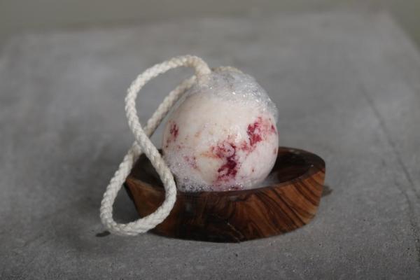 Waschkram Shampoo Kugel Lavendel