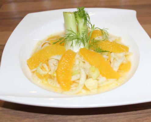 Fenchel- Orangen Salat